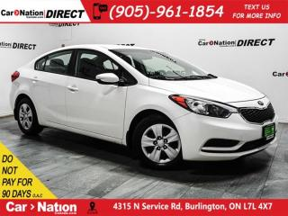 Used 2015 Kia Forte LX| ONE PRICE INTEGRITY| LOCAL TRADE| for sale in Burlington, ON