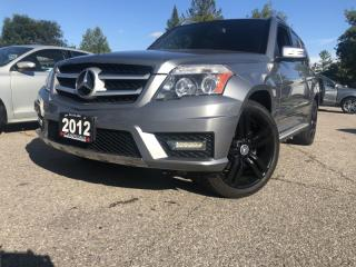 Used 2012 Mercedes-Benz GLK-Class 4dr with Navi back up camera biweekly $ 224 for sale in Brampton, ON