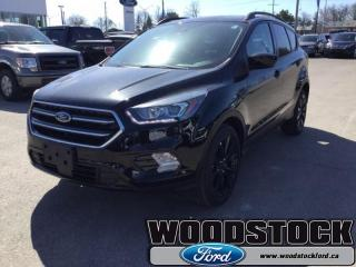 New 2018 Ford Escape SE  200A, SE, NAVIGATION for sale in Woodstock, ON