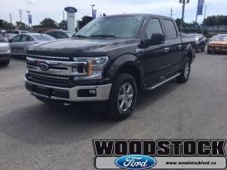 New 2018 Ford F-150 XLT  302A, SUPERCREW, SYNC 3 for sale in Woodstock, ON