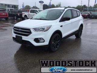 New 2018 Ford Escape SE  200A, SE, SAFE AND SMART PACKAGE for sale in Woodstock, ON