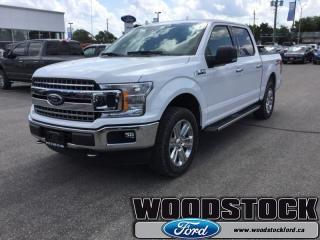 New 2018 Ford F-150 XLT  302A, SUPERCREW, XTR PKG for sale in Woodstock, ON
