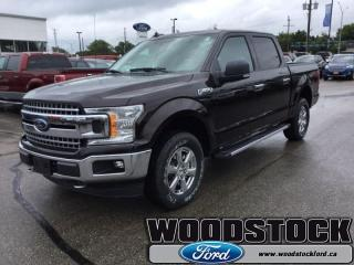 New 2018 Ford F-150 XLT  302A, SUPERCREW, NAVIGATION for sale in Woodstock, ON