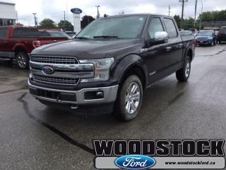 New 2018 Ford F-150 Lariat  502A, SUPERCREW, TECHNOLOGY PKG for sale in Woodstock, ON