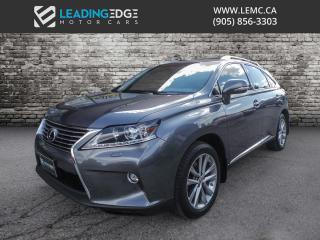 Used 2015 Lexus RX 350 Sportdesign Technology Pkg! Navigation, Heads Up Display, Heated and Cooled Seats for sale in Woodbridge, ON
