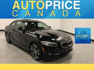 Used 2014 BMW 228i MOONROOF|NAVIGATION|LEATHER|ONE OWNER |CLEAN CARPROOF for sale in Mississauga, ON