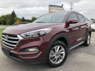 Used 2017 Hyundai Tucson Premium AWD with Heated Steering! BackupCam, Heated Seats, Bluetooth, Alloys and BlindSpot Detect! for sale in Kemptville, ON