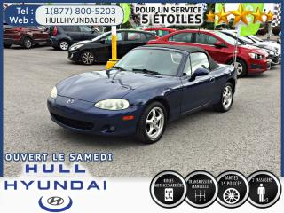 Used 2003 Mazda Miata MX-5 for sale in Gatineau, QC