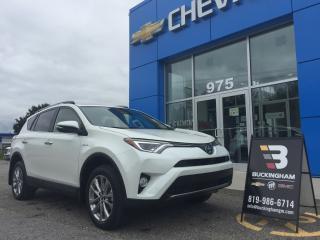 Used 2018 Toyota RAV4 Gaz Saving Hybride for sale in Gatineau, QC