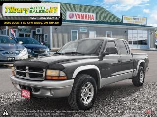 Used 2002 Dodge Dakota SLT. GREAT SHAPE! v8. for sale in Tilbury, ON
