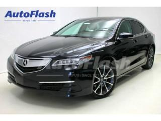 Used 2015 Acura TLX Tech-Pkg Awd for sale in St-hubert, QC