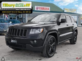 Used 2011 Jeep Grand Cherokee Overland. BLACKED OUT!!! for sale in Tilbury, ON
