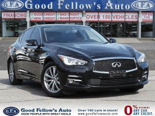 Used 2014 Infiniti Q50 PREMIUM PKG, SUNROOF, NAVIGATION, REARVIEW CAMERA for sale in Toronto, ON