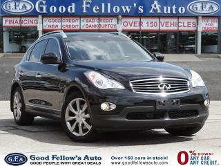 Used 2014 Infiniti QX50 LEATHER SEATS, SUNROOF, REARVIEW CAMERA, AWD, 6CYL for sale in Toronto, ON