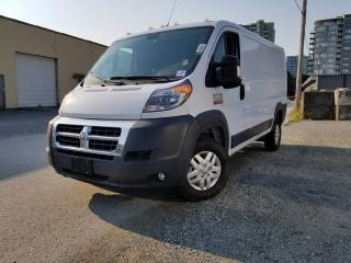 New 2018 RAM Cargo Van ProMaster Low Roof 136 in. WB for sale in Richmond, BC