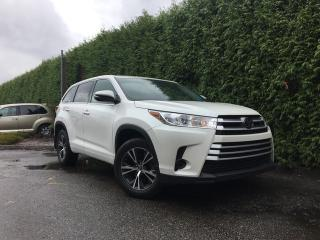 Used 2017 Toyota Highlander LE + 8 PASSENGER + BACK-UP CAMERA + NO EXTRA DEALER FEES for sale in Surrey, BC