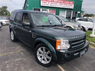 Used 2009 Land Rover LR3 HSE 7 Pass Nav for sale in Burlington, ON