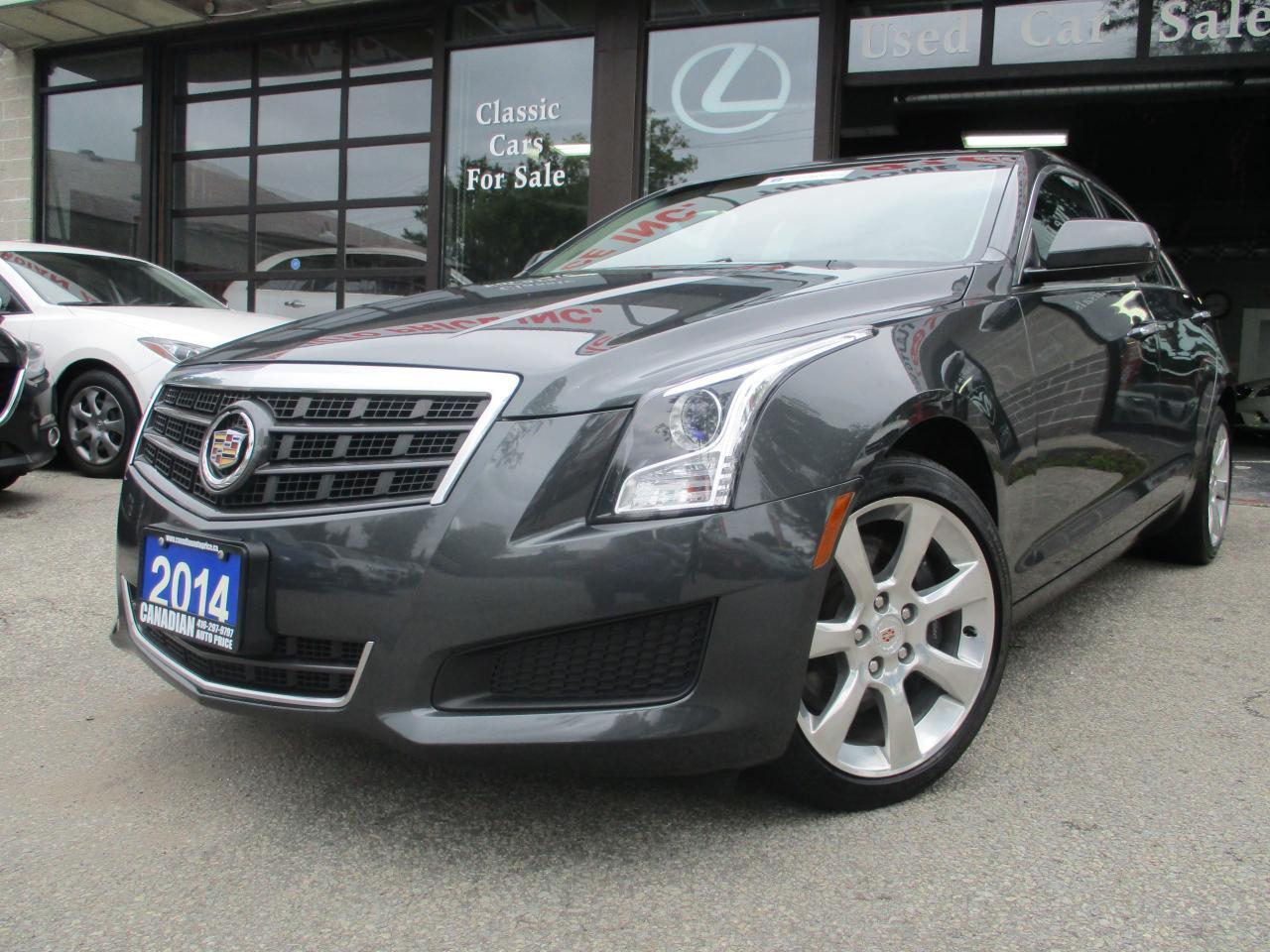 Used 2014 Cadillac Ats Awd 2 0l Turbo Awd Prm Pkg Sunroof Loaded For