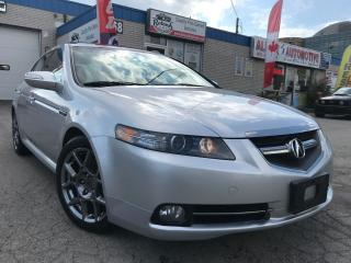 Used 2007 Acura TL Type-S w/Navi_Backup Cam_Leather_Sunroof for sale in Oakville, ON