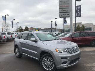 New 2018 Jeep Grand Cherokee Summit for sale in Cold Lake, AB