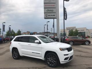 New 2018 Jeep Grand Cherokee GRAND CHEROKEE OVERLAND for sale in Cold Lake, AB