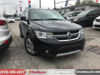 Used 2012 Dodge Journey R/T | 7PASS | LEATHER | NAV| AWD for sale in London, ON