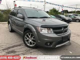 Used 2012 Dodge Journey R/T | NAV | 7PASS | LEATHER  | ROOF | DVD for sale in London, ON