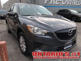 Used 2014 Mazda CX-5 GX/CONVENIENCE PKG,ALLOYS,BLUETOOTH -TORONTO for sale in Toronto, ON