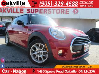 Used 2016 MINI Cooper LEATHER | PANOROOF | ACCIDENT FREE! for sale in Oakville, ON