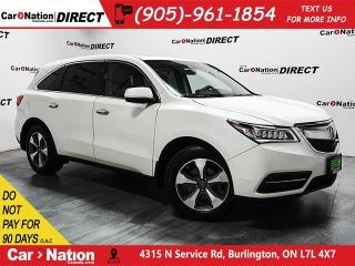 Used 2016 Acura MDX | AWD| SUNROOF| BACK UP CAMERA| for sale in Burlington, ON