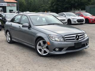 Used 2010 Mercedes-Benz C-Class 1-Owner No-Accidents 4MATIC AWD Leather Sunroof Bluetooth for sale in Holland Landing, ON