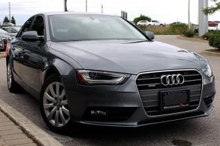 Used 2013 Audi A4 2.0T Premium + Power Seats   Climate Control for sale in Whitby, ON