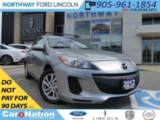 Used 2012 Mazda MAZDA3 GS-SKY | MANUAL | HEATED SEATS | ROOF RACK | for sale in Brantford, ON