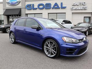Used 2017 Volkswagen Golf R 6 SPEED MANUAL 292 HP NAVIGATION LEATHER for sale in Ottawa, ON