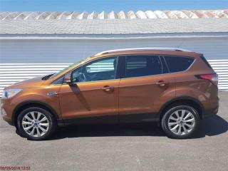 Used 2017 Ford Escape Titanium Tech Package,Navigation,Heated Leather Seats, Back Up Cam, Power Liftgate,Moonroof for sale in Oromocto, NB