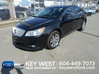Used 2010 Buick LaCrosse CXL AWD Sunroof Leather for sale in New Westminster, BC