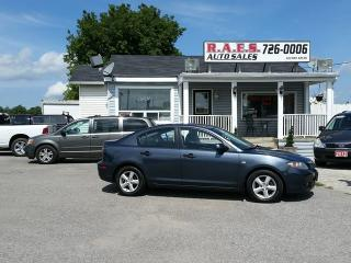 Used 2008 Mazda MAZDA3 GS for sale in Barrie, ON