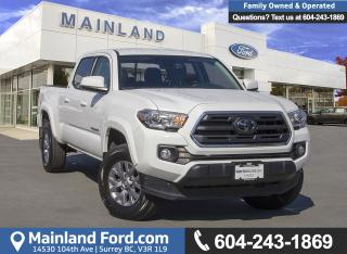 Used 2018 Toyota Tacoma SR5 *ACCIDENT FREE* *LOCALLY DRIVEN* for sale in Surrey, BC