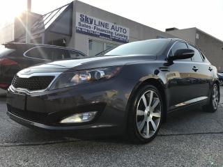 Used 2013 Kia Optima EX HEATED AND COOLING SEATS|CAMERA|SUNROOF for sale in Concord, ON