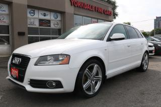 Used 2011 Audi A3 2.0T S Line, Panoramic Roof, No Accidents for sale in Toronto, ON