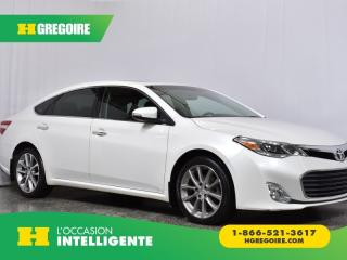 Used 2015 Toyota Avalon XLE for sale in St-Léonard, QC