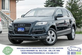Used 2011 Audi Q7 3.0L S/C NAVI GPS REAR CAM CERTIFIED 1 OWNER for sale in Bolton, ON