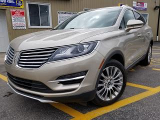 Used 2015 Lincoln MKC AWD-NAV-PAN ROOF-PWR LIFTGATE-HEATED LEATHER for sale in Tilbury, ON