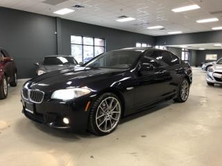 Used 2013 BMW 5 Series 535I XDRIVE*M-SPORT*NAVIGATION*360 CAMERA*CERTIFIE for sale in North York, ON
