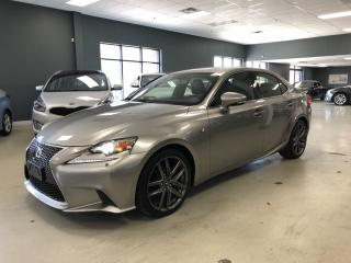 Used 2015 Lexus IS 250 F-SPORT*ONE OWNER*MINT CONDITION* for sale in North York, ON