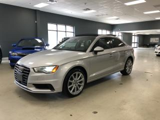Used 2015 Audi A3 2.0T QUATTRO TECHNIK*NAVIGATION*REAR VIEW CAMERA*B for sale in North York, ON