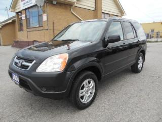 Used 2004 Honda CR-V EX All Wheel Drive Automatic Certified 291,000KMs for sale in Rexdale, ON