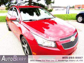 Used 2012 Chevrolet Cruze 1.4L - Turbo - 6 Speed for sale in Woodbridge, ON