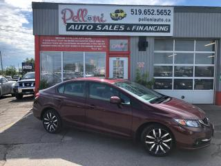 Used 2013 Honda Civic Touring, NAV, LEATHER, SUNROOF for sale in London, ON