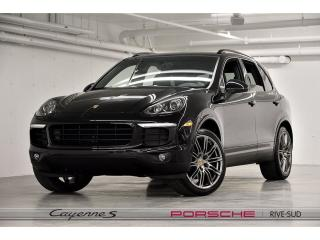 Used 2018 Porsche Cayenne Platinum Edition for sale in St-Hubert, QC